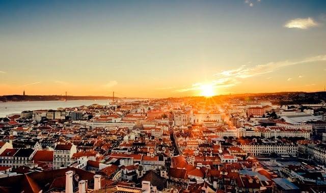 Região do centro de Lisboa - vista