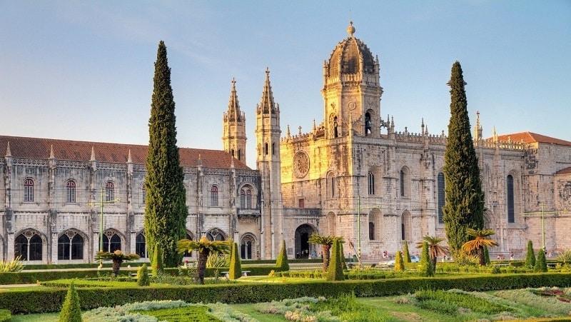 Mosteiro dos Jerónimos em Lisboa