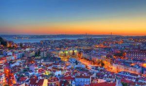 Fuso horário entre Lisboa e Brasil - vista Lisboa