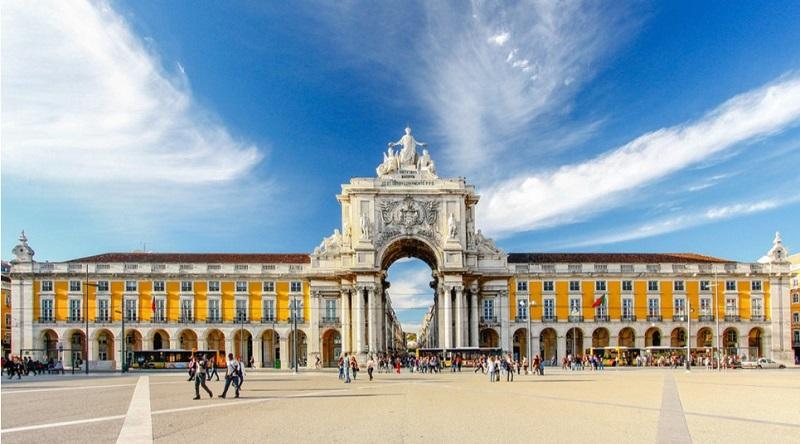 Praça do Comércio Lisboa, Portugal