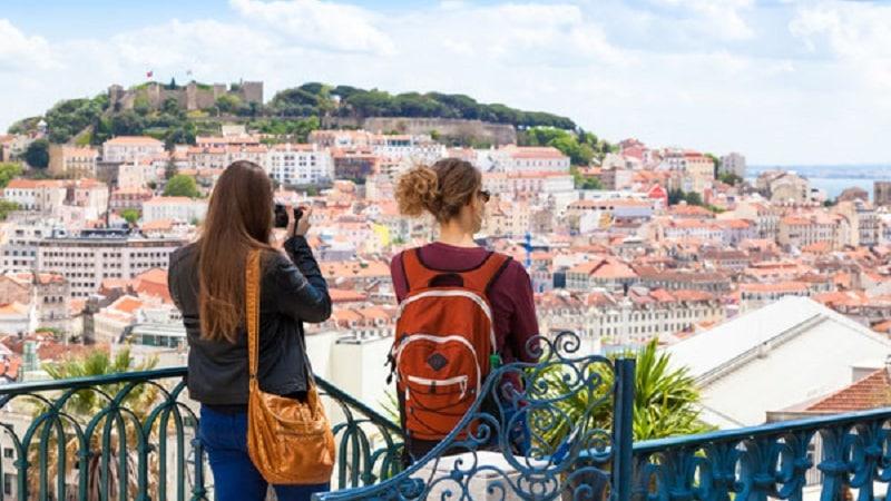 Miradouro em Lisboa
