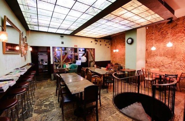 Café Vertigo em Lisboa