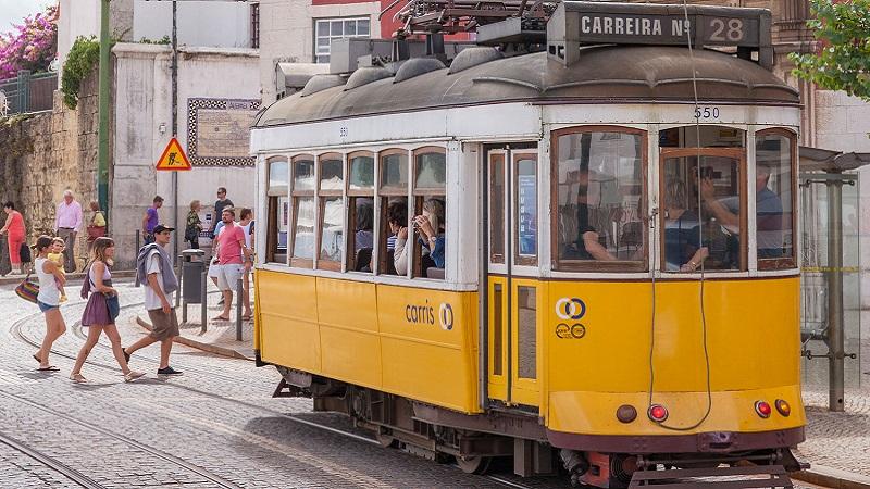 Eletrico 28 em Lisboa