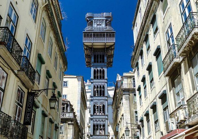 Elevador de Santa Justa em Lisboa