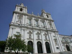 Igreja de São Vicente de Fora em Lisboa