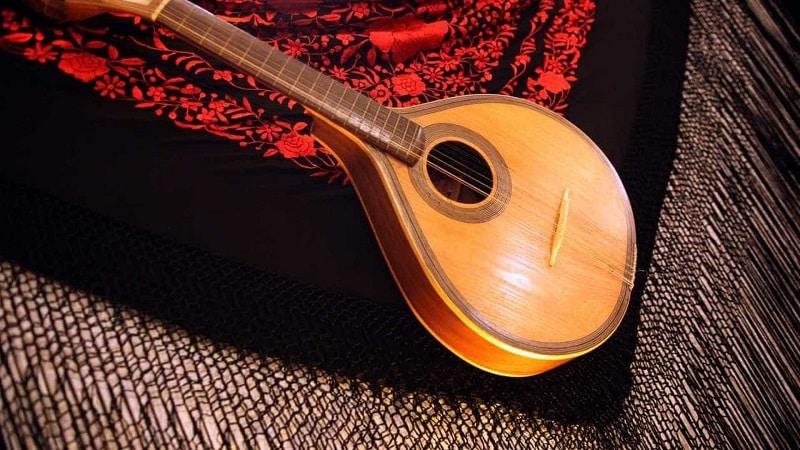 Instrumento típico do fado português
