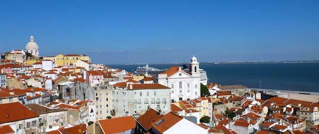 Miradouros de Alfama em Lisboa