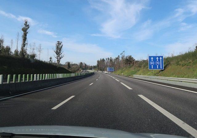 Viagem de carro de Lisboa ao Porto