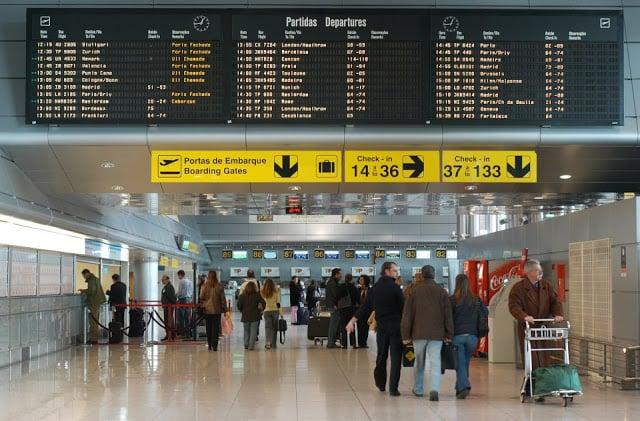 Devolução do imposto no Aeroporto de Lisboa