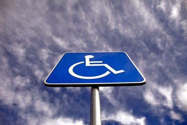 Vaga para deficientes físicos em Lisboa