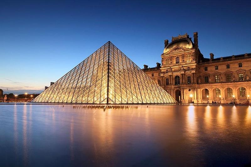Museu do Louvre em Paris, França