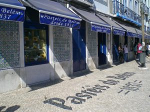 Pastelaria de Belém em Lisboa
