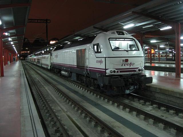 Trenhotel de Lisboa a Madri