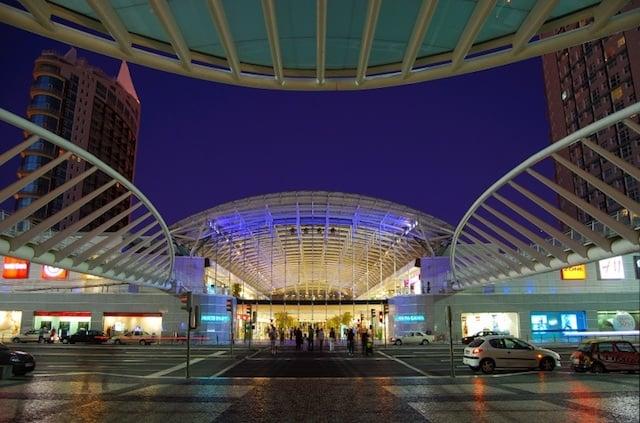Shopping Vasco da Gama à noite