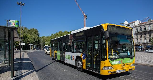 Aerobus em Lisboa