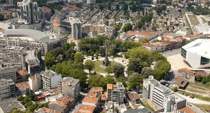Região da Boavista no Porto