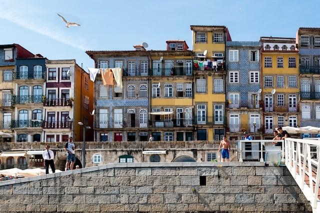 Centro histórico no Porto