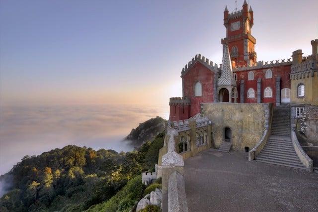 Vista Palácio da Pena