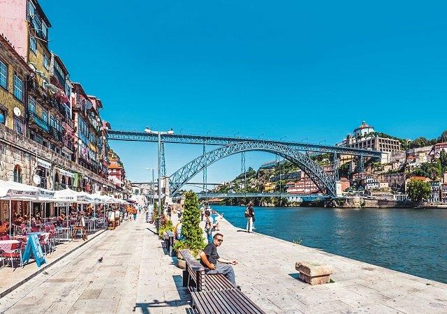 Clima e temperatura no Porto