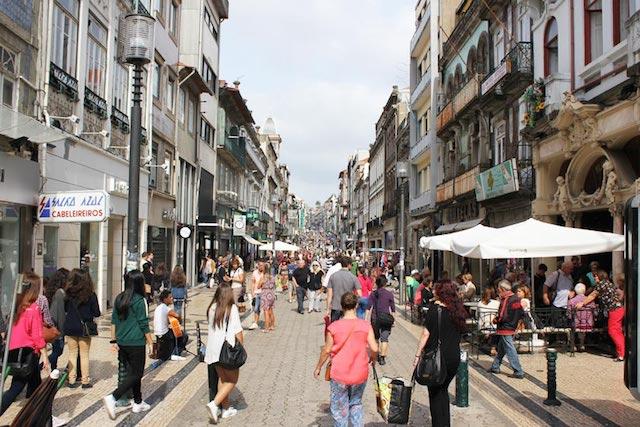 Rua Santa Catarina no Porto