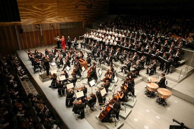 Sala Suggia na Casa da Música no Porto