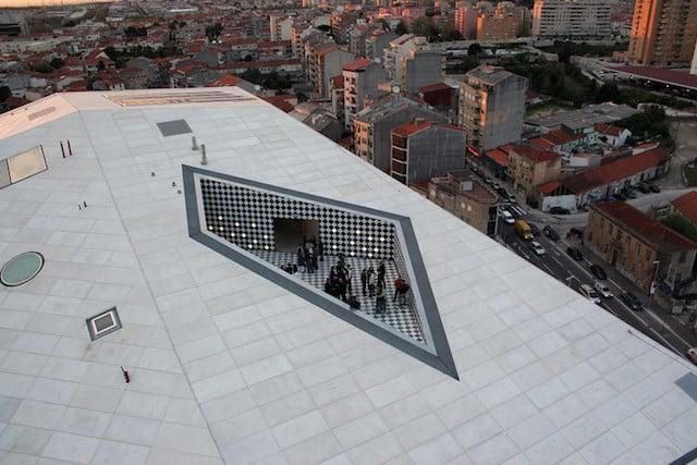 Terraço da Casa da Música no Porto