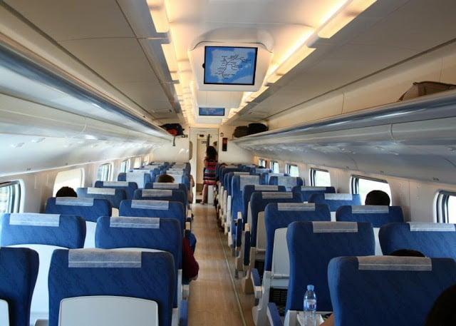Trem de Lisboa a Barcelona