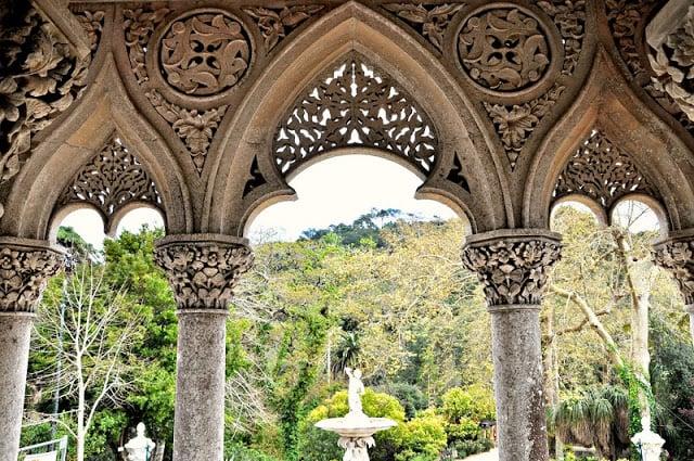 Vista para o parque de Monserrate