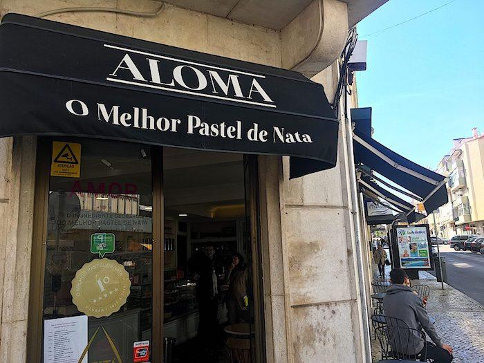Pastelaria Aloma em Lisboa