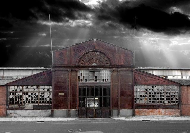 Edifício da da Fábrica Braço de Prata