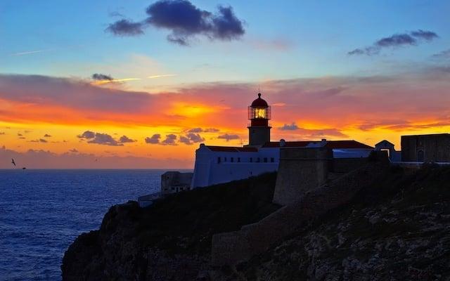 Cidade de Faro no Algarve