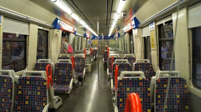 Trem até Sintra