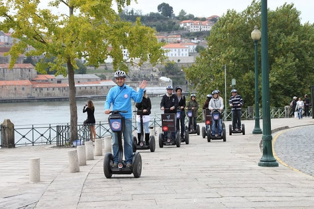 Passeio Segway pelo Douro