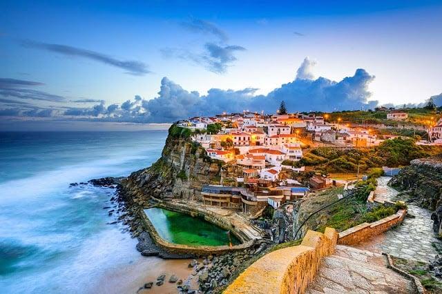 Azenhas do Mar em Portugal