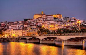 Vista de Coimbra e do Rio Mondego