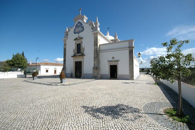 Igreja de São Lourenço Almancil no Algarve
