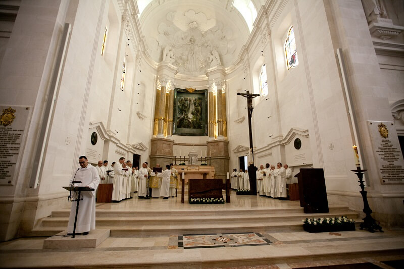 Interior da Basílica de Nossa Senhora do Rosário