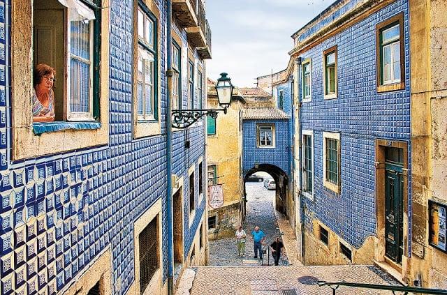 Bairro de Belém em Lisboa
