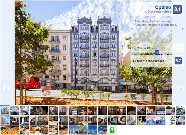 Hotel Expo Astoria em Lisboa
