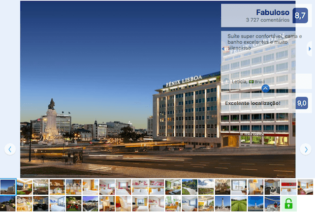 Hotel Fénix Garden em Lisboa