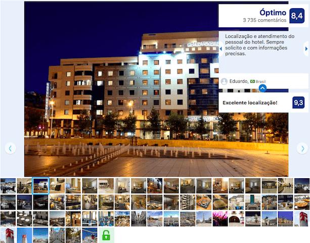 Hotel Mundial em Lisboa