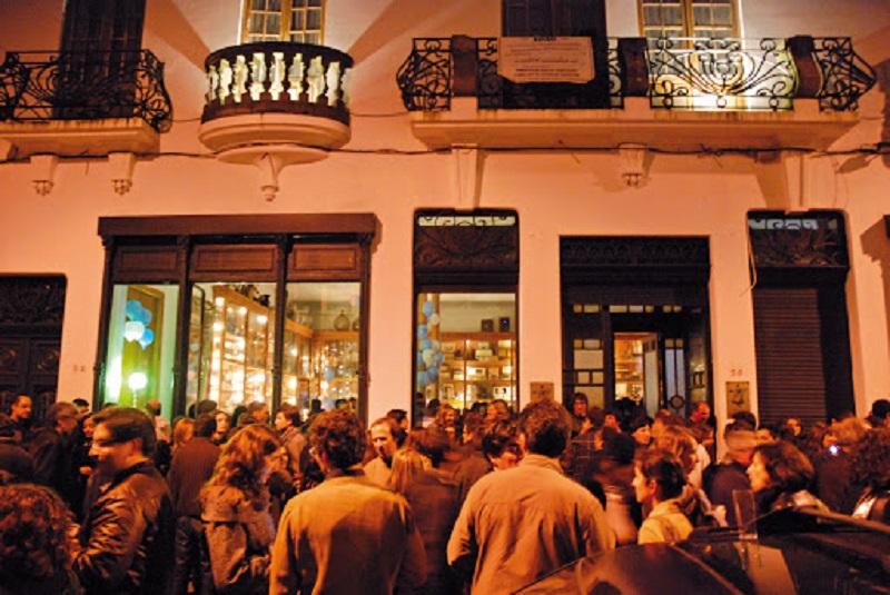 Bar do Porto à noite