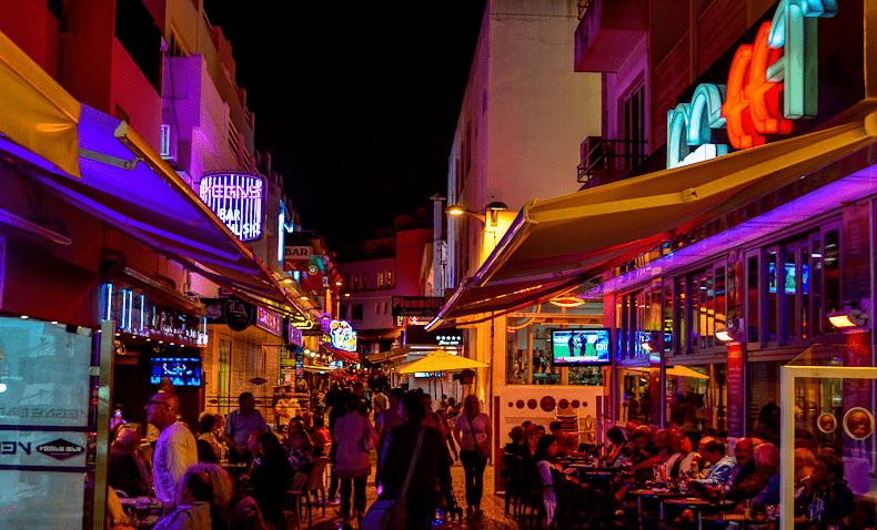 Noite em Faro, Algarve