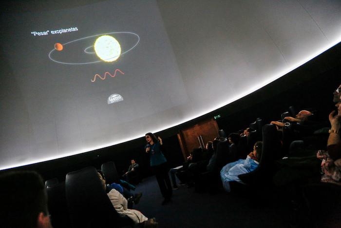 Planetário no Porto