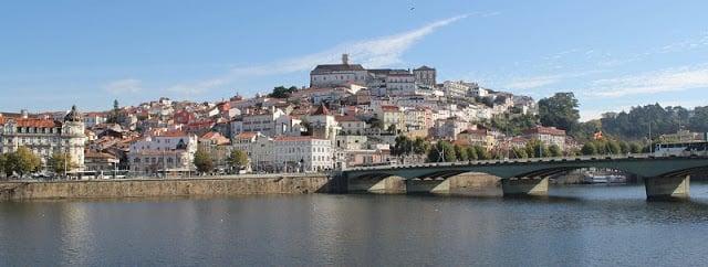 Clima e temperatura em Coimbra