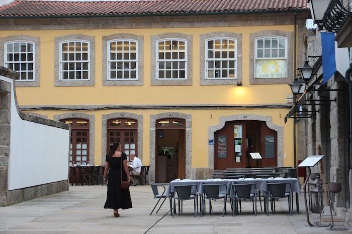 Restaurante Casa Amarela em Guimarães