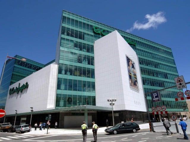 Loja de departamento El Corte Inglés no Porto