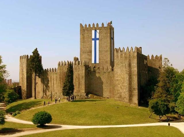 Pontos turísticos em Guimarães