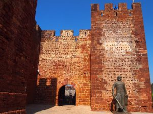 Castelo de Silves no Algarve