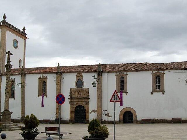 Sé Velha de Bragança em Portugal